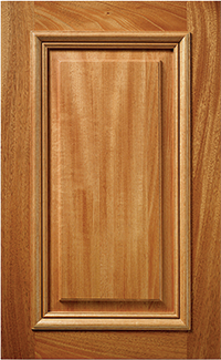 Hand Crafted Cabinet Doors. Greenland M11 African Mahogany // Outside Edge:  OS4 // Panel: EJ